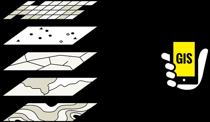 ドーンのGISの技術